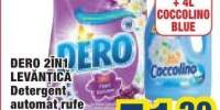 Detergent automat de rufe Dero 2in1 Levantica