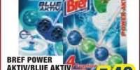 Odorizant toaleta Bref Power Aktiv/Blue Aktiv