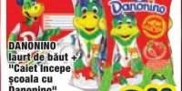 "Danonino Iaurt de baut + caiet ""Incepe scoala cu Danonino"""