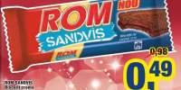 Biscuiti crema Rom Sandvis