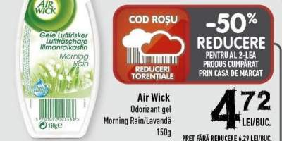 Odorizant gel Morning Rain/ Lavanda Air Wick