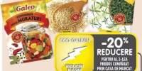 Galeo condimente pentru muraturi/ mustar alb boabe/ cimbru