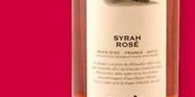 Vin Syrah Rose