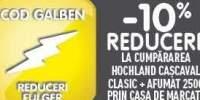10% reducere la cumpararea Hochland Cascaval Clasic + Afumat 250 grame prin casa de marcat.