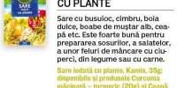 Sare iodata cu plante, Kamis
