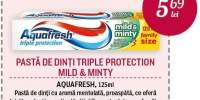 Pasta de dinti Triple Protection Mild&Minty Aquafresh