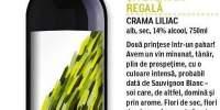 Cupaj de Sauvignon Blanc si Feteasca Regala Crama Liliac