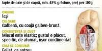 Cascaval de Harlau Gusturi Romanesti