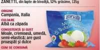 Mozzarella Bufala Campana Zanetti