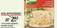 Spaghetti quatro formaggi