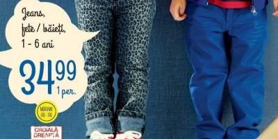 Jeans fete/baieti Lupilu