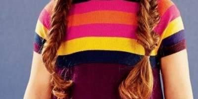 Rochie tricotata, fete, 1 - 6 ani