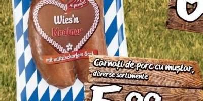 Carnati de porc cu mustar Alpengut