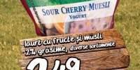 Iaurt cu fructe si musli Alpengut