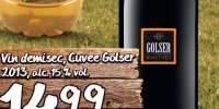 Vin demisec Cuvee Golser 2013