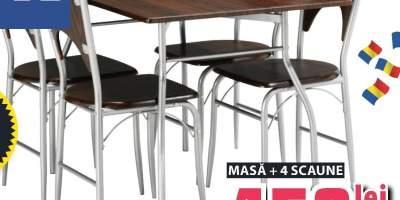Set msa si scaune Thyholm