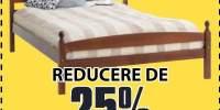 Reducere de 25% la toate cadrele de pat