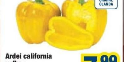 Ardei galben california
