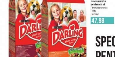 Darling hrana uscata pentru caini