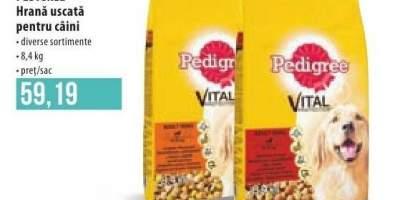 Pedigree hrana uscata pentru caini 8.4 kilograme