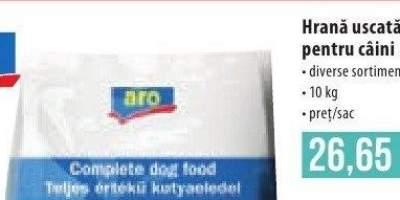Hrana uscata pentru caini Aro 10 kilograme.
