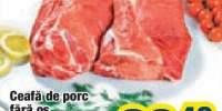 Ceafa de porc fara os