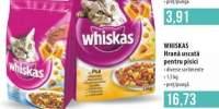 Whiskas hrana uscata pentru pisici 1.5 kilogame