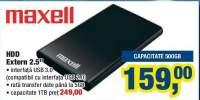HDD extern 2.5 inci Maxell