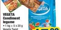 Condiment legume Vegeta