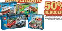 50% reducere la achizitionarea produselor Lego