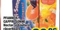 Nectar si bautura racoritoare necarbonatata Pfanner/Cappri Sonne