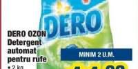 Detergent automat pentru rufe Dero Ozon