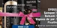 Sampon/balsam/vopsea de par/fixativ Syoss