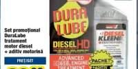 Set promotional DuraLube tratament motor Diesel + aditiv motorina