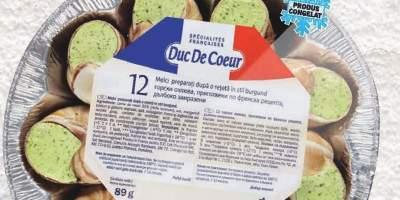 Melci in stil burgund Duc De Coeur