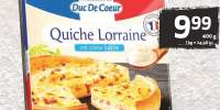 Tarta Quiche Duc De Coeur