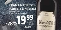 Vin rosu sec Babeasca Neagra, Crama Nicoresti