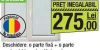 Ferestre PVC 3 camere