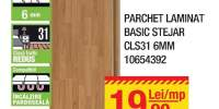 Parchet laminat basic stejar CLS31