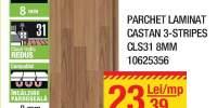 Parchet laminat castan 3-stripes CLS31