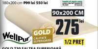 Saltea superioara gold T30 Wellpur