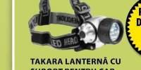 Takara lanterna cu suport pentru cap