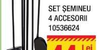 Set semineu 4 accesorii