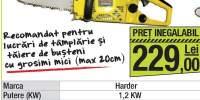 Motoferastrau termic Harder