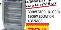 Convector halogen 1200W Equation
