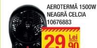 Aeroterma neagra Celcia 1500W