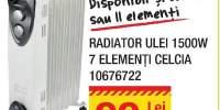 Radiator ulei Celcia 1500W