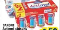Actimel capsuni/fructe de padure Danone