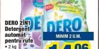 Detergent automat pentru rufe Dero 2 in 1