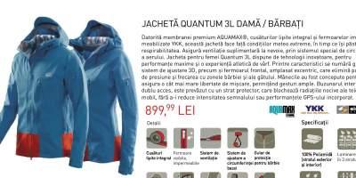 Jacheta Quantum 3L dama/ barbati